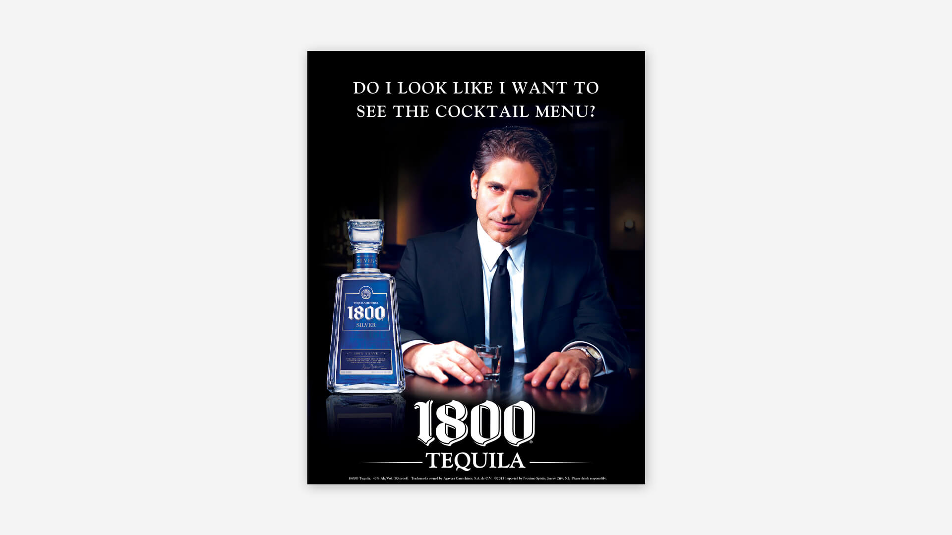 1800 Cocktail Menu