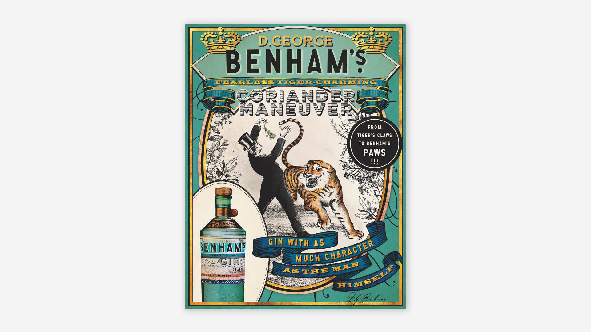 Benham's Leave-Behind