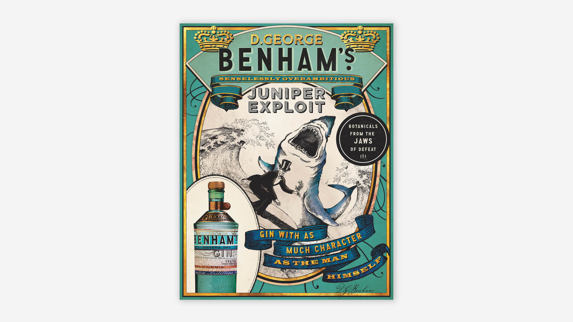 Benham's Leave-Behind