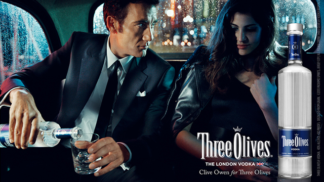 Three Olives – Clive Owen Car