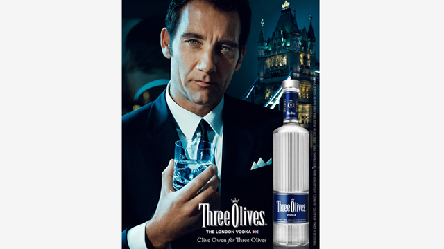 Three Olives – Clive Owen London Bridge