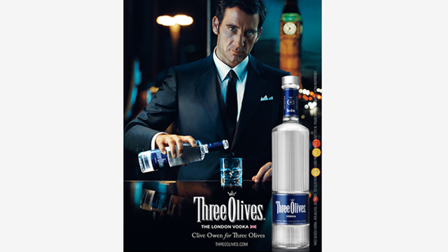 Three Olives – Clive Owen Big Ben