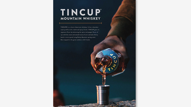 Tincup – Pour print ad