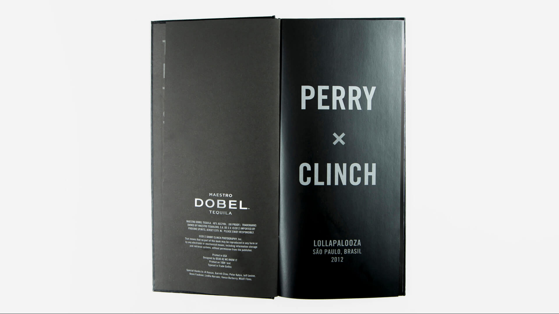 Dobel - Perry Ferrell Book