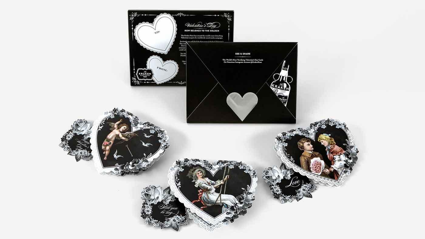 Kraken - Valentine's Cards