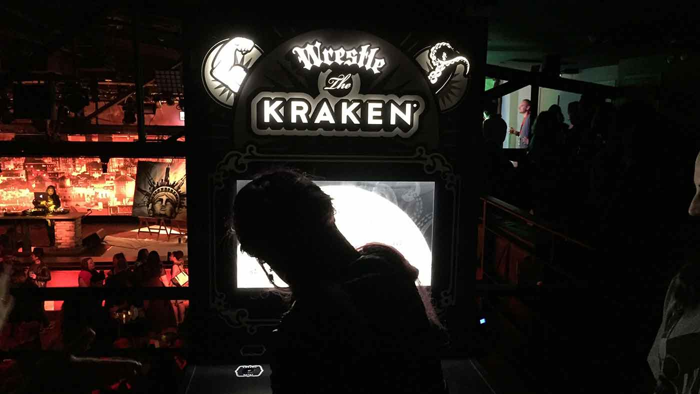 Kraken - Zombie Projection