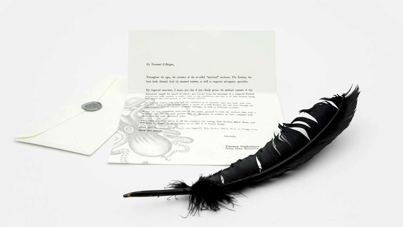 Kraken Launch Kit Press Letter