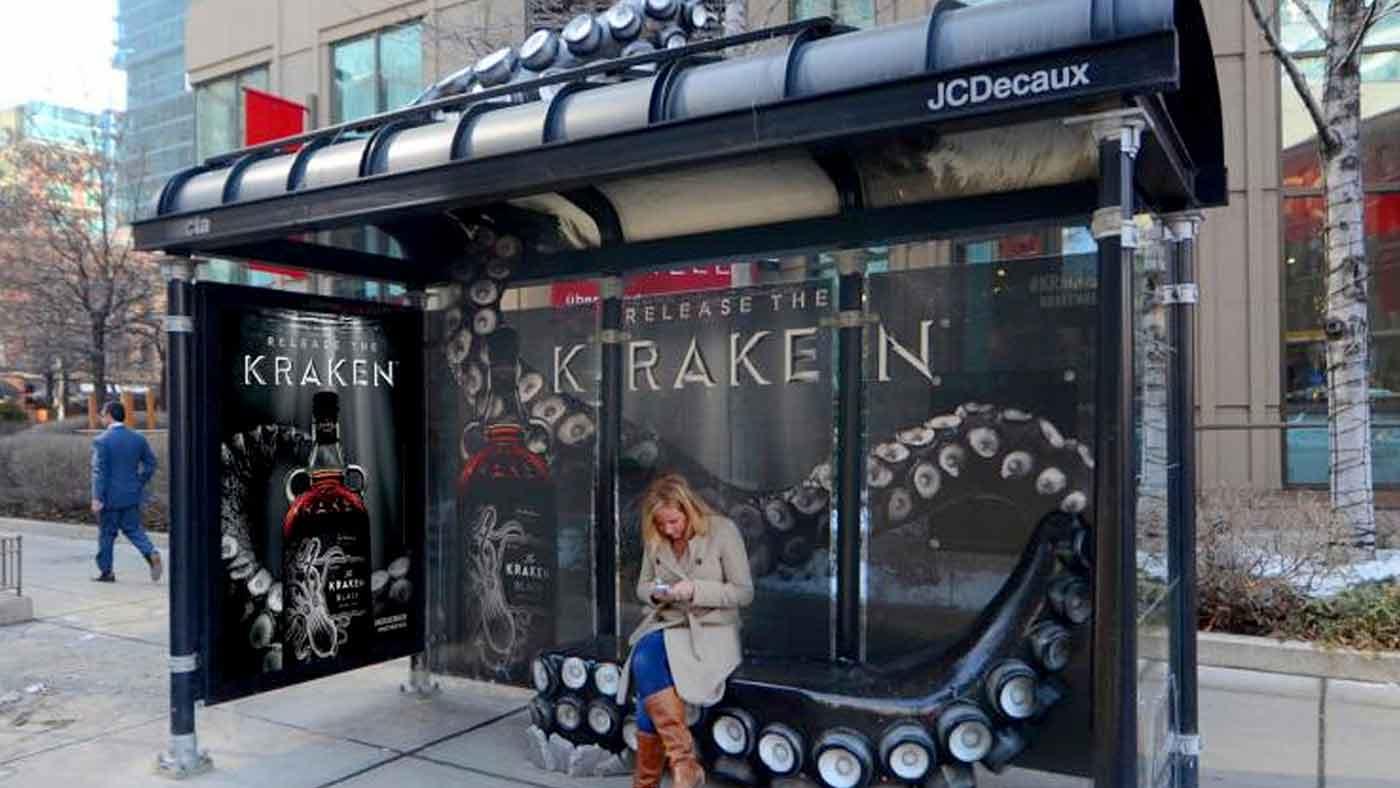 Kraken Bus Shelter