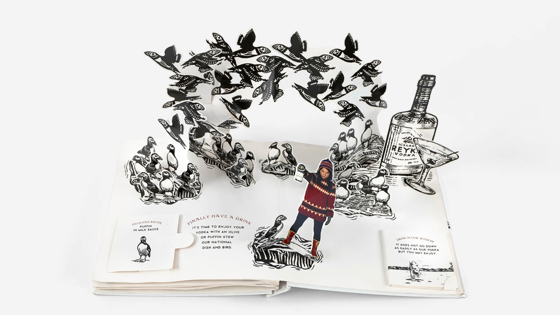Reyka - Pop-Up Book