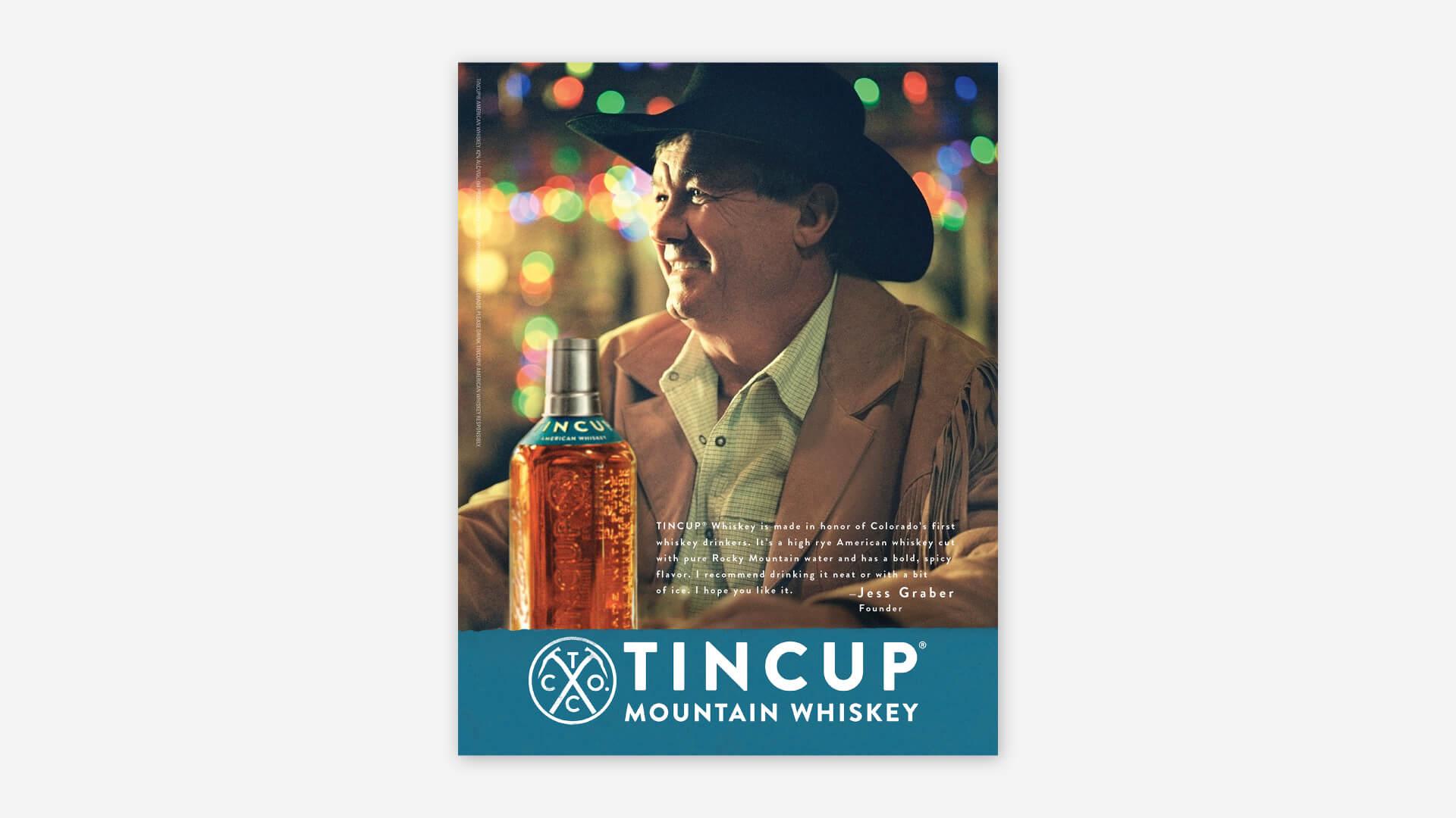 Tincup Print Bottle