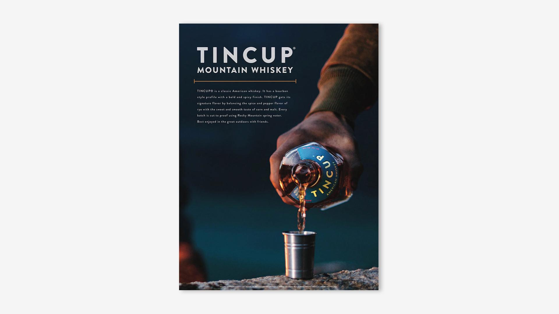 Tincup Print Dog