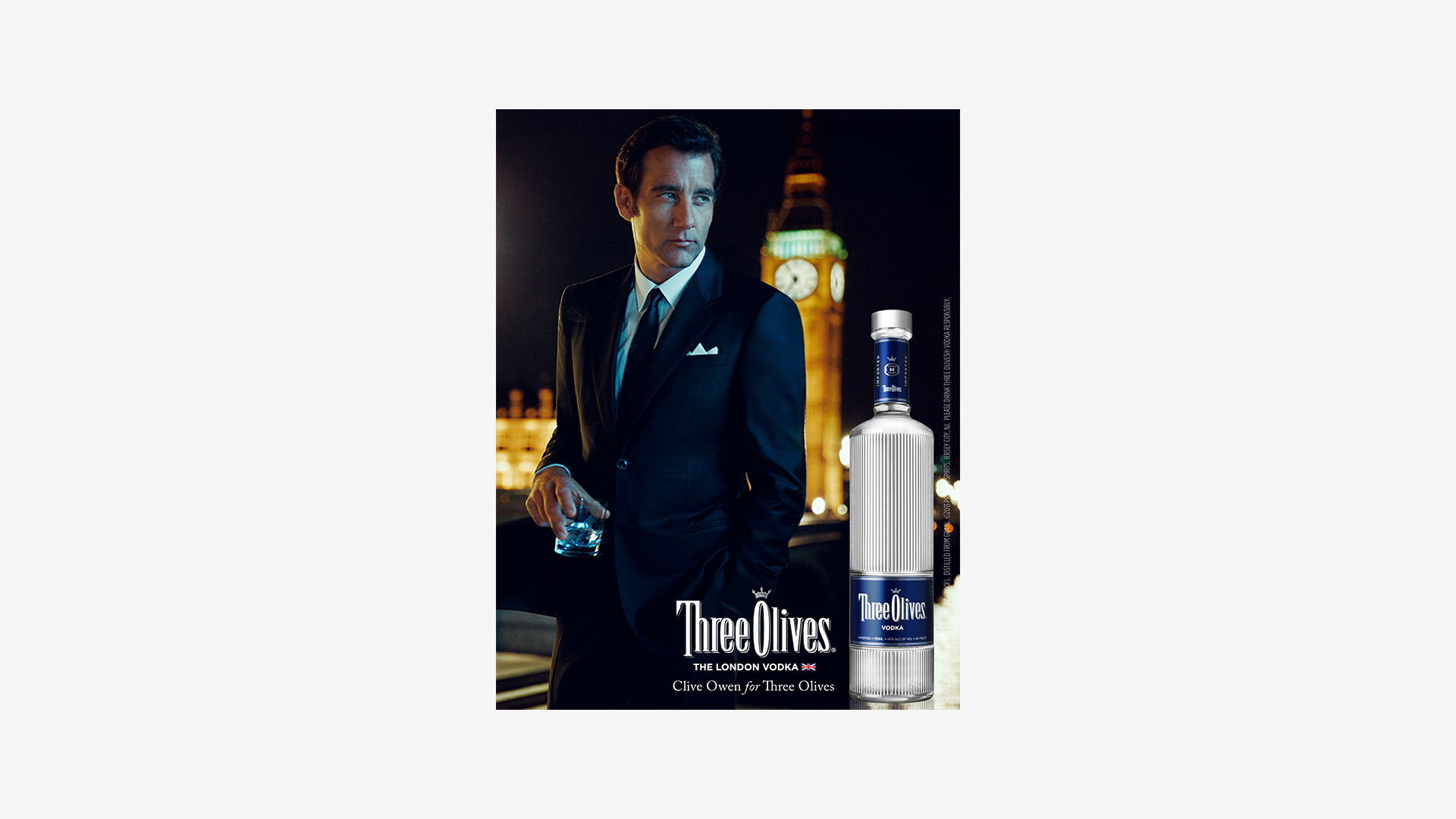 Three Olives Print