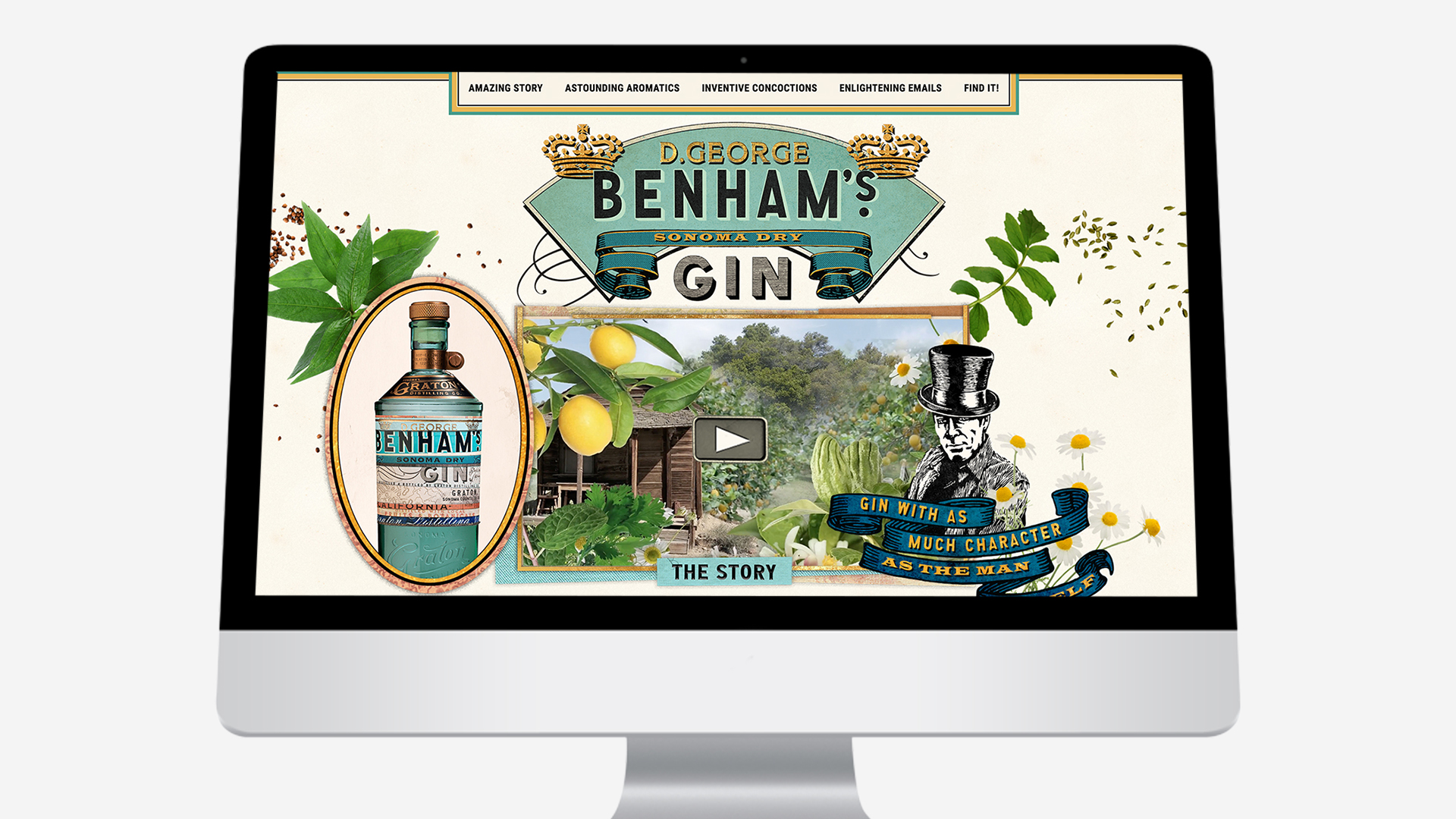 Benham's – Website