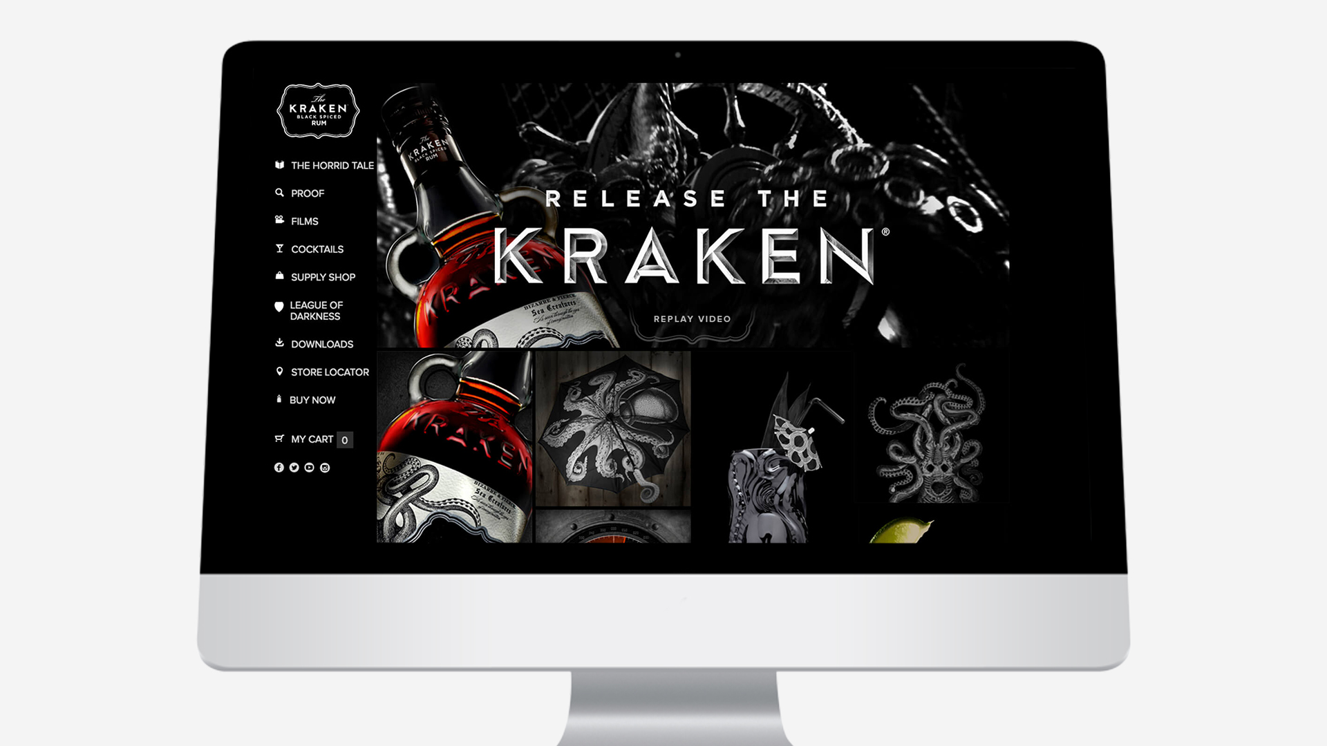 Kraken – Website