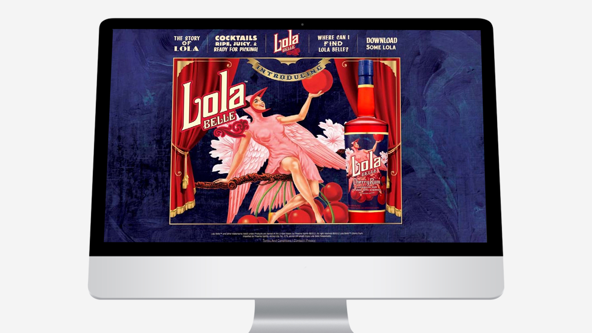 Lola Belle – Website