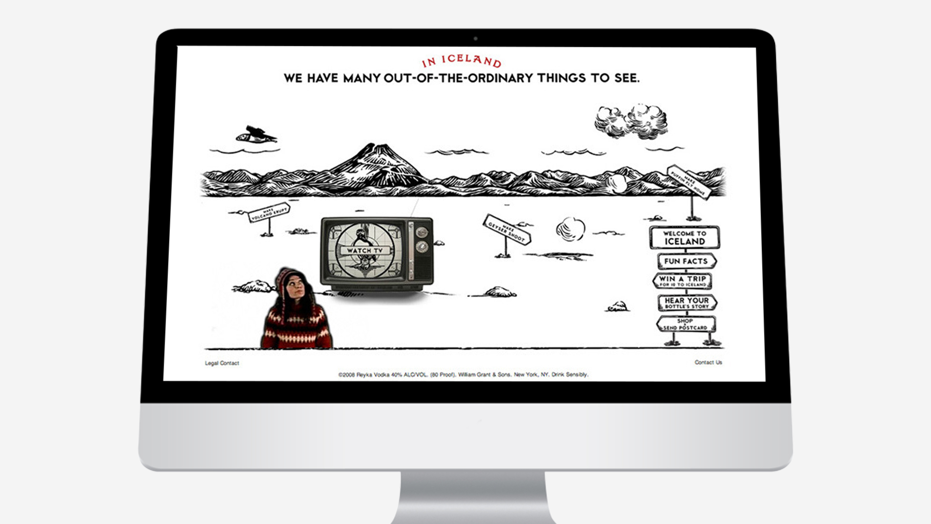 Reyka – Website Animated