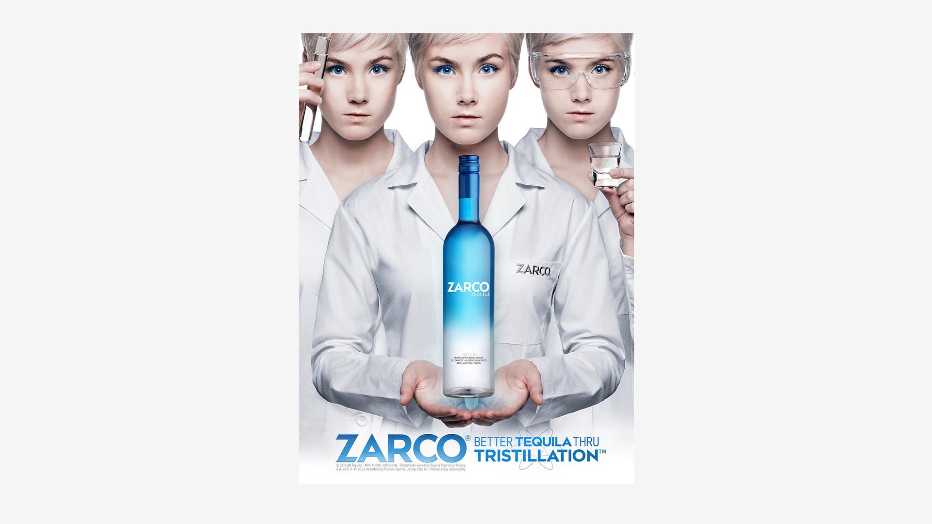 Zarco Tristillation Print