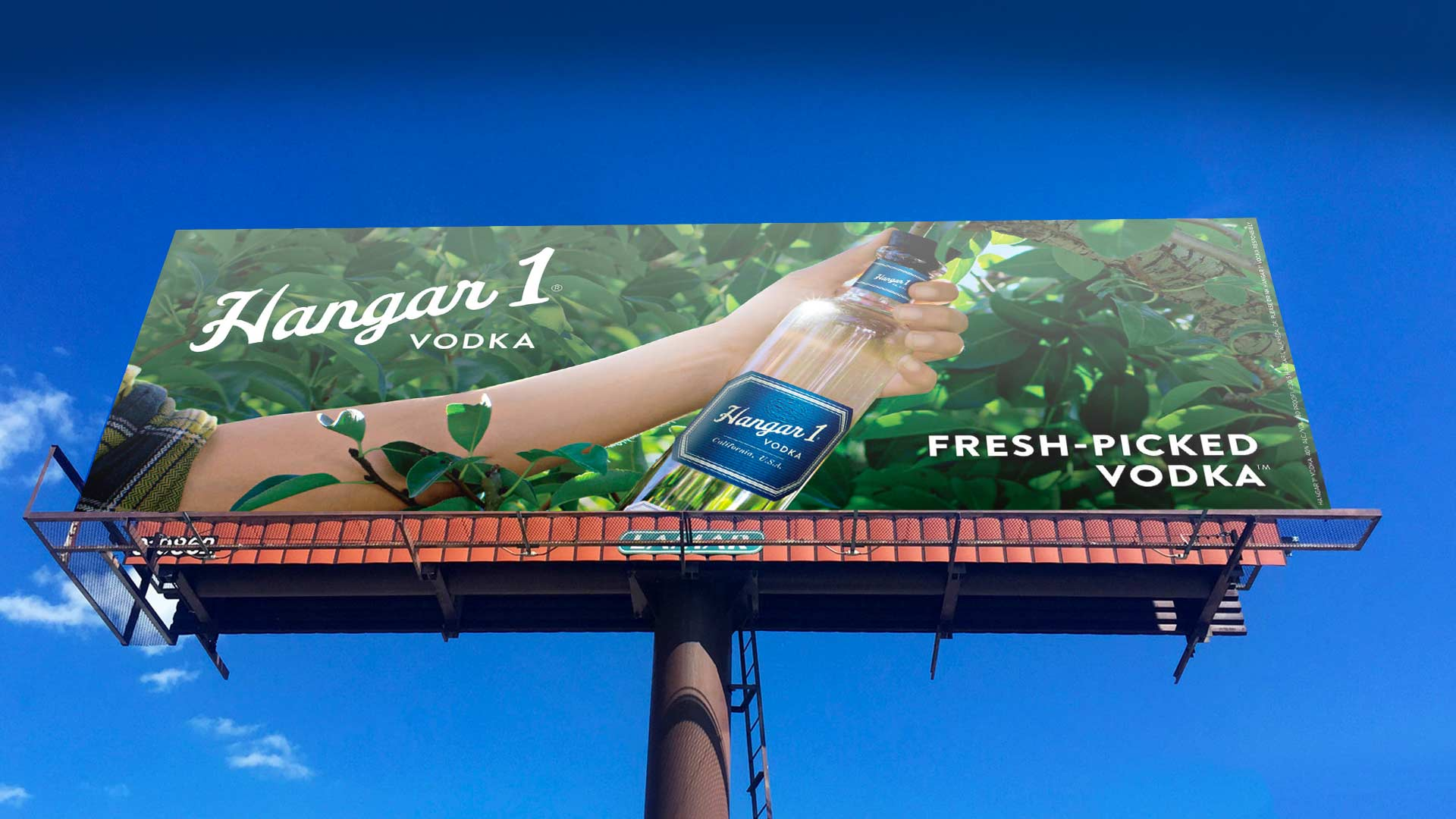 Hangar 1 – Tree Billboard