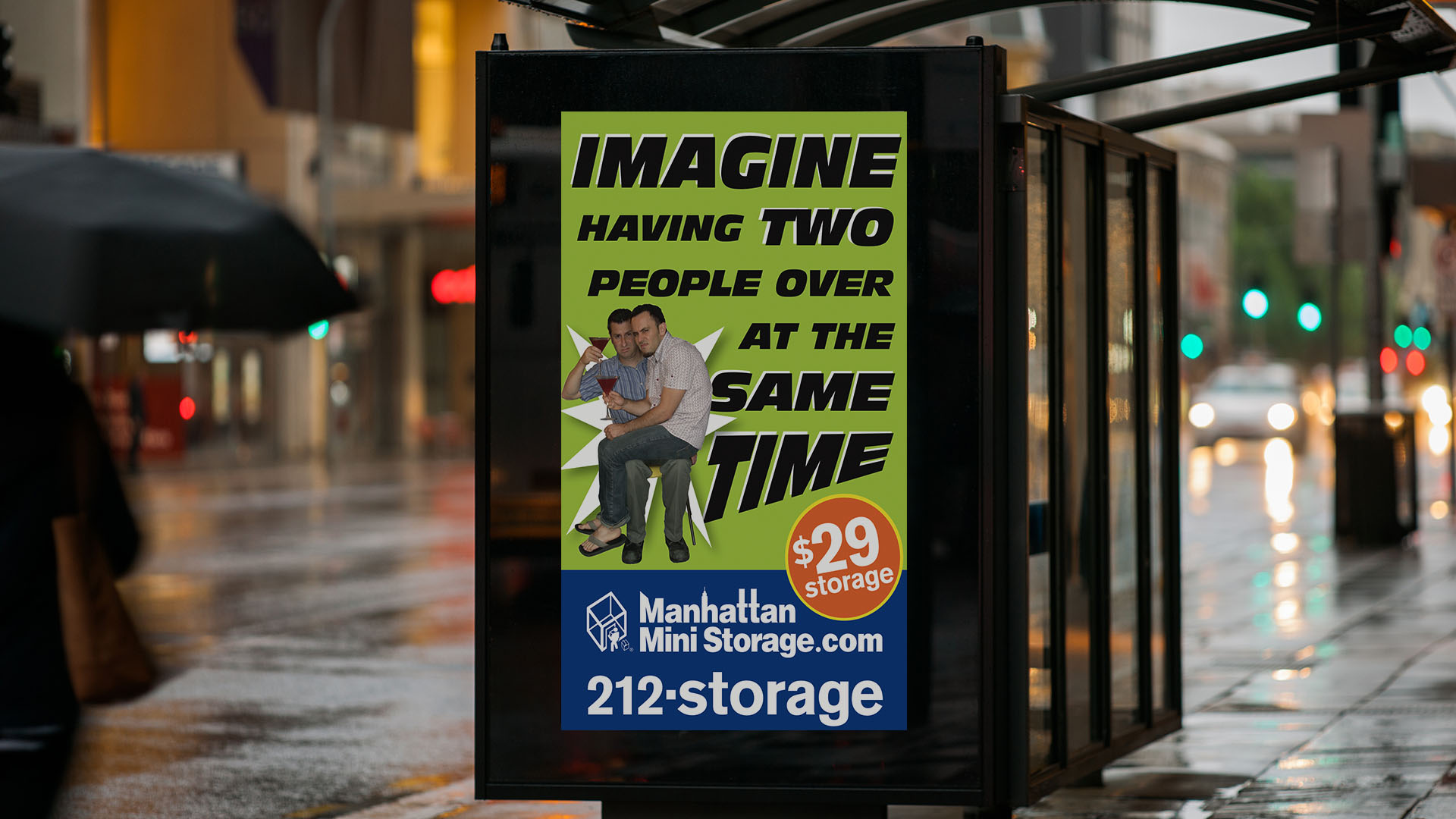 Manhattan Mini Storage – Two People