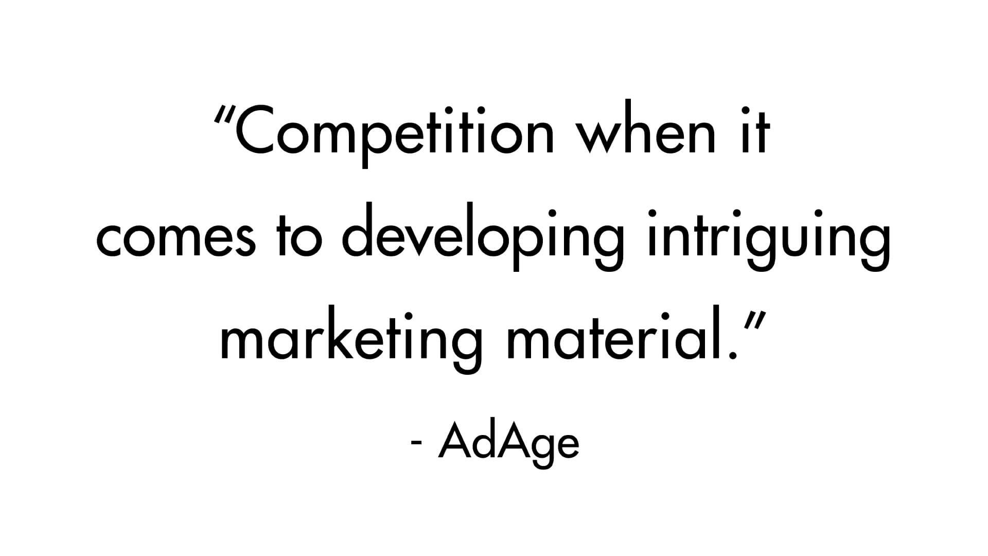 ACU – Press Quote – AdAge