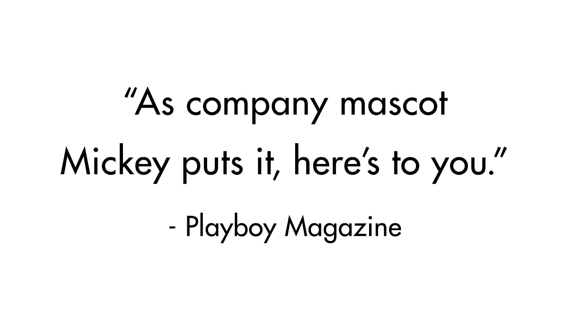 KNT – Press Quote – Playboy